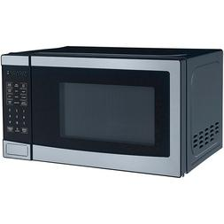 Mainstays 0.7 Cu. Ft. 700W Stainless Steel Microwave with 10