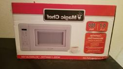 0.7 cu. ft. countertop microwave in white | magic chef kitch