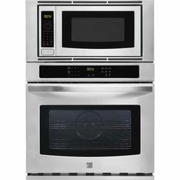 """Kenmore 49613 30"""" Electric Combination Wall Oven & Microwave"""