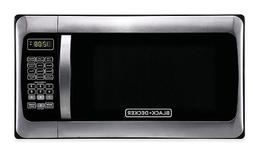 Black & Decker 1.1 cu. ft. Microwave Oven in Stainless Steel