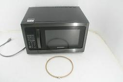 Farberware Black FMO12AHTBSG 1.2 Cu. Ft. 1100-Watt Microwave