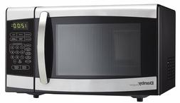 Danby Countertop Microwave Oven, 0.7 cu.ft., Black and Stain