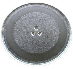 "G.E. Microwave Glass Turntable Plate / Tray 12 3/4 "" WB49X10"