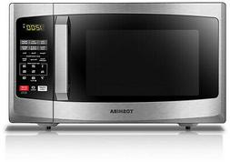 Toshiba EM925A5A-BS Microwave Oven with Sound On/Off and ECO