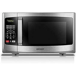 Toshiba EM925A5A-SS Countertop Microwave Ovens With Sound On