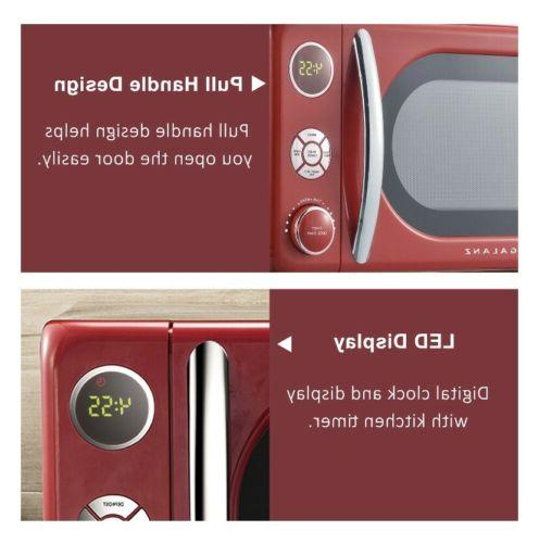 Galanz Cu. ft. Retro Microwave Oven, 700