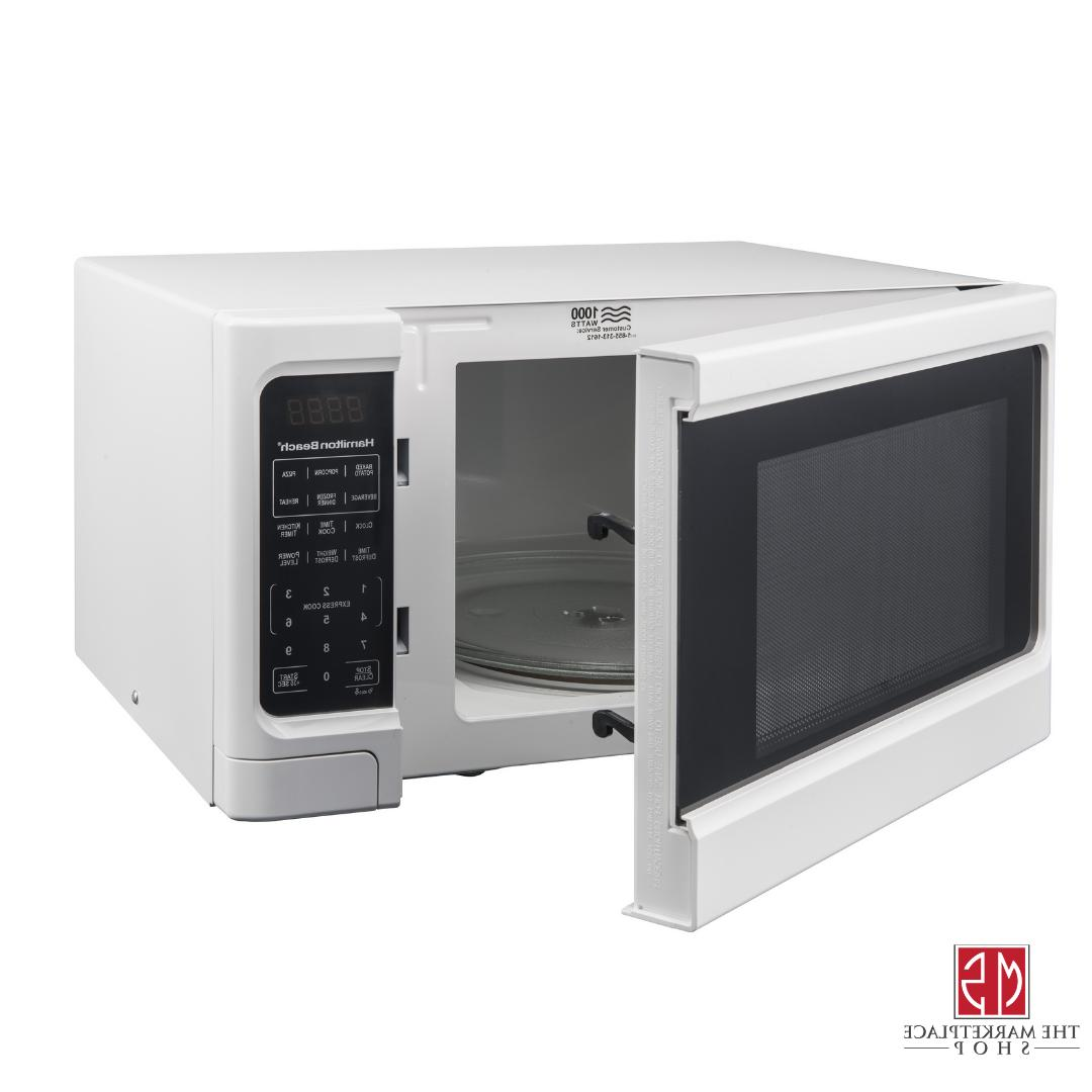 Microwave Oven 1.1 Cu. 1000w White