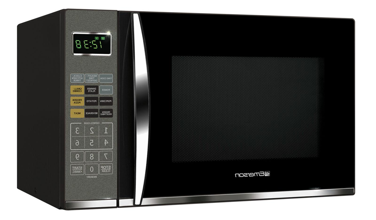 Microwave W/ Grill 1.2 Cu Ft Home Kitchen Cooking Grilling T