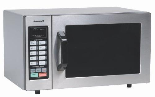 Panasonic Oven Stainless Steel with and Screen Control, 0.8