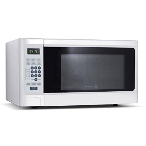 Westinghouse - 1.1 Cu. Ft. Mid-Size Microwave - White