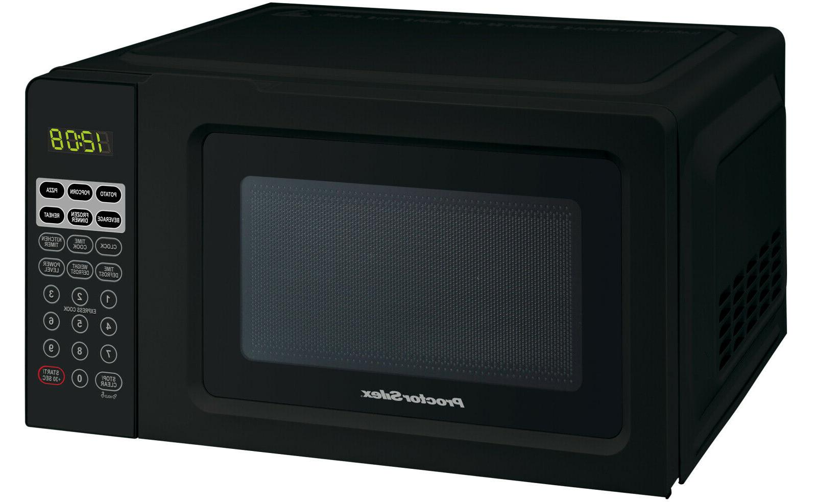 Proctor Silex 0.7 Cu.ft Black Small Appliances