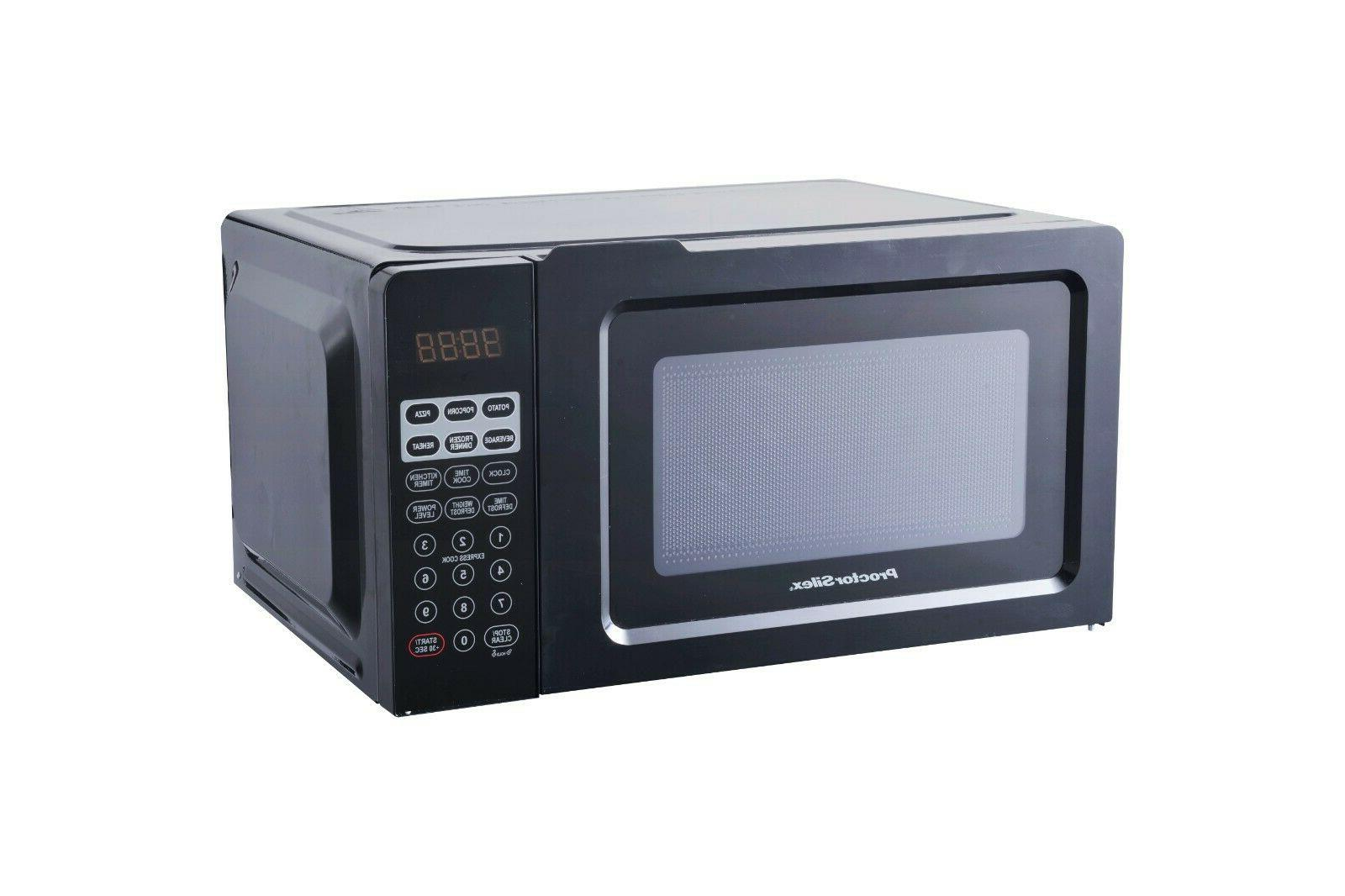 Microwave Oven 0.7 Cu.ft Digital Kitchen Countertop Space Sa