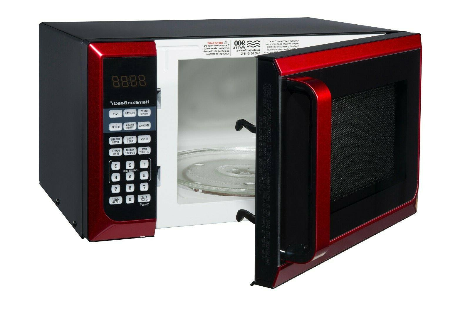 Digital Cu ft 900W Stainless Steel Kitchen Home