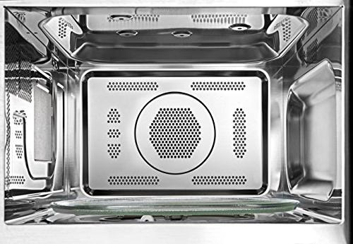 Toshiba EC042A5C-BS Microwave with Convection Smart Sensor Lighting 1.5 Cu.ft Stainless