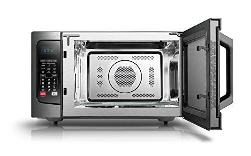 Toshiba with Convection 1.5 Cu.ft Stainless