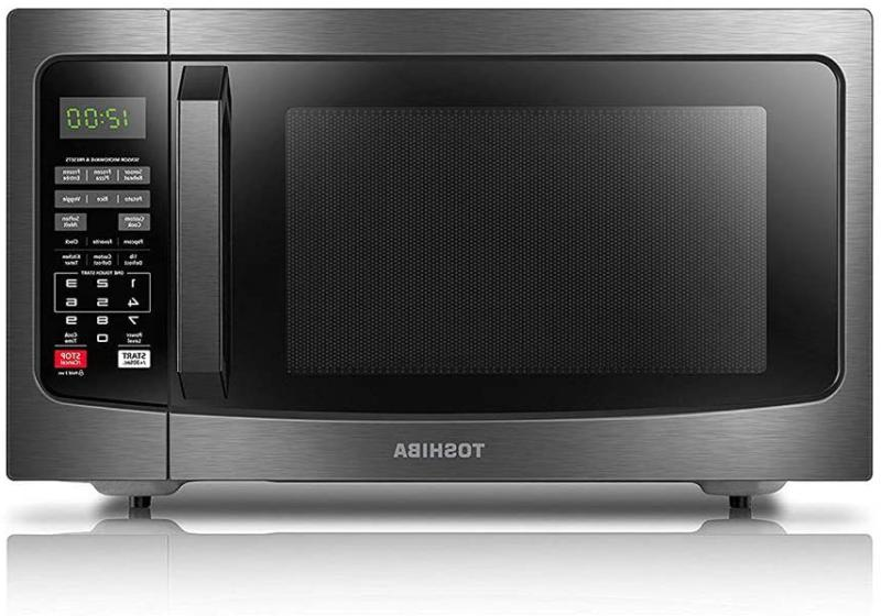 toshiba em131a5c bs microwave oven with smart