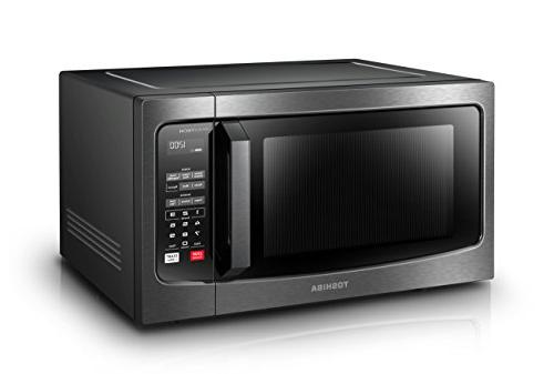 Toshiba EM245A5C-BS with Technology, Display Smart 1.6 Cu.ft/1250W, Steel