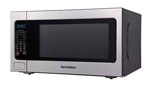 Farberware Professional FMO22ABTBKA Cu. Ft. Microwave Oven Cooking, Mode LED Lighting,