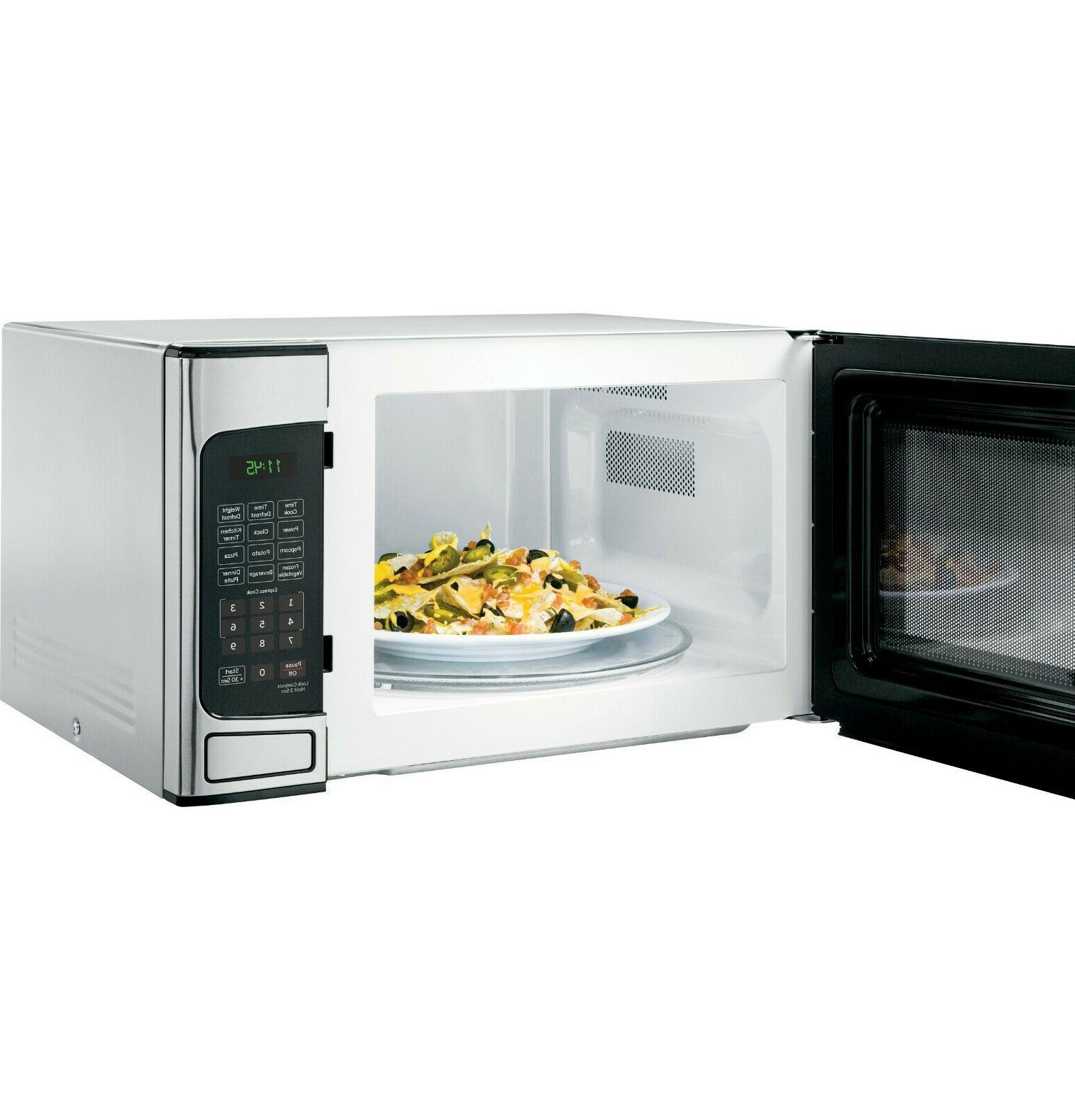 General Electric 1.1 Cu. Ft. Countertop Microwave Oven 1-tou