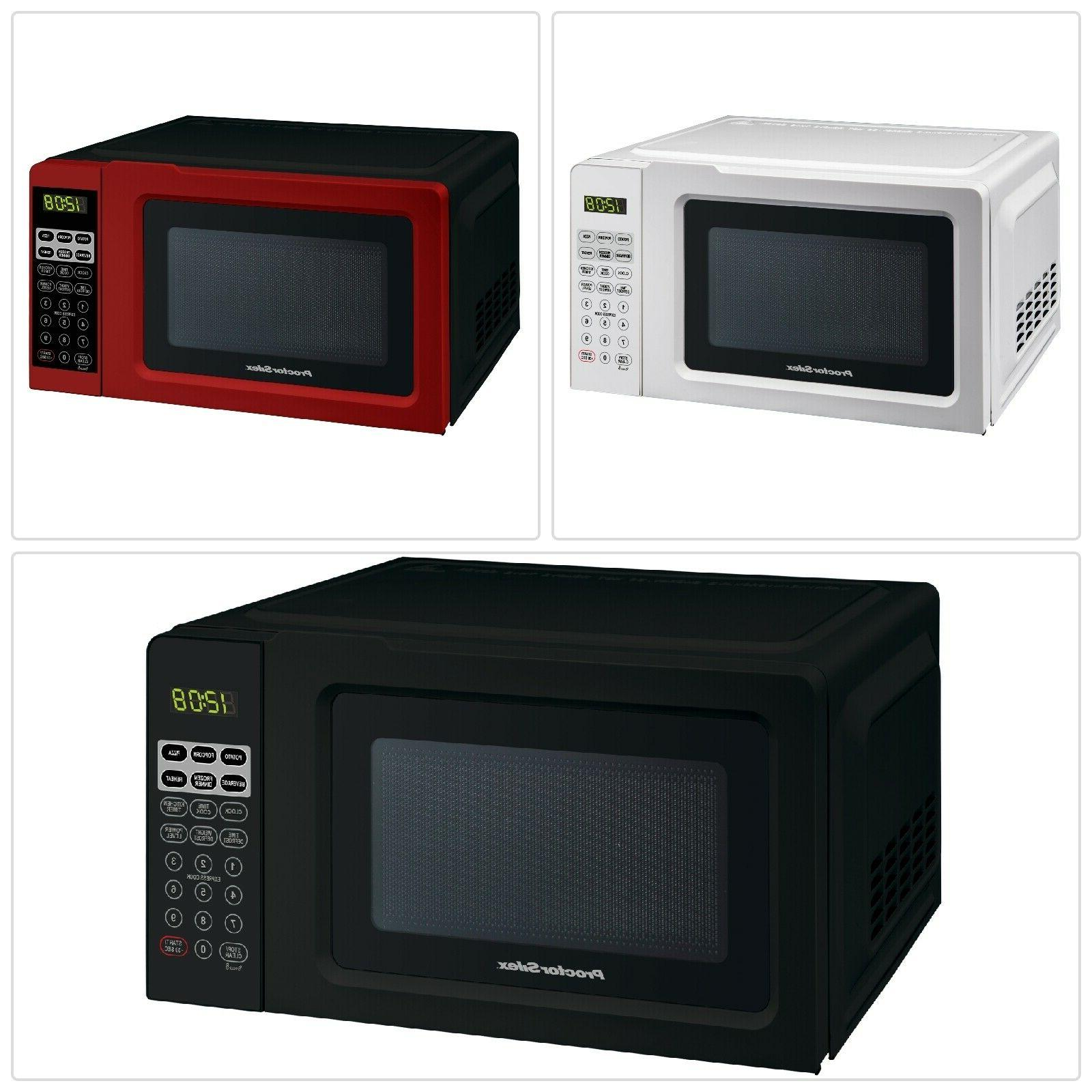 home digital microwave oven small kitchen heavy