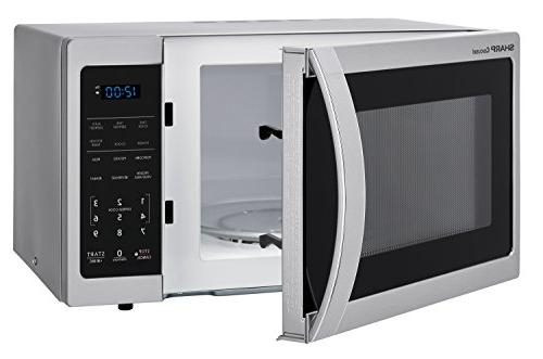 Sharp 900W 0.9 Cubic Stainless