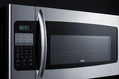 """Summit 30"""" Wide Over-The-Range Stainless Steel"""