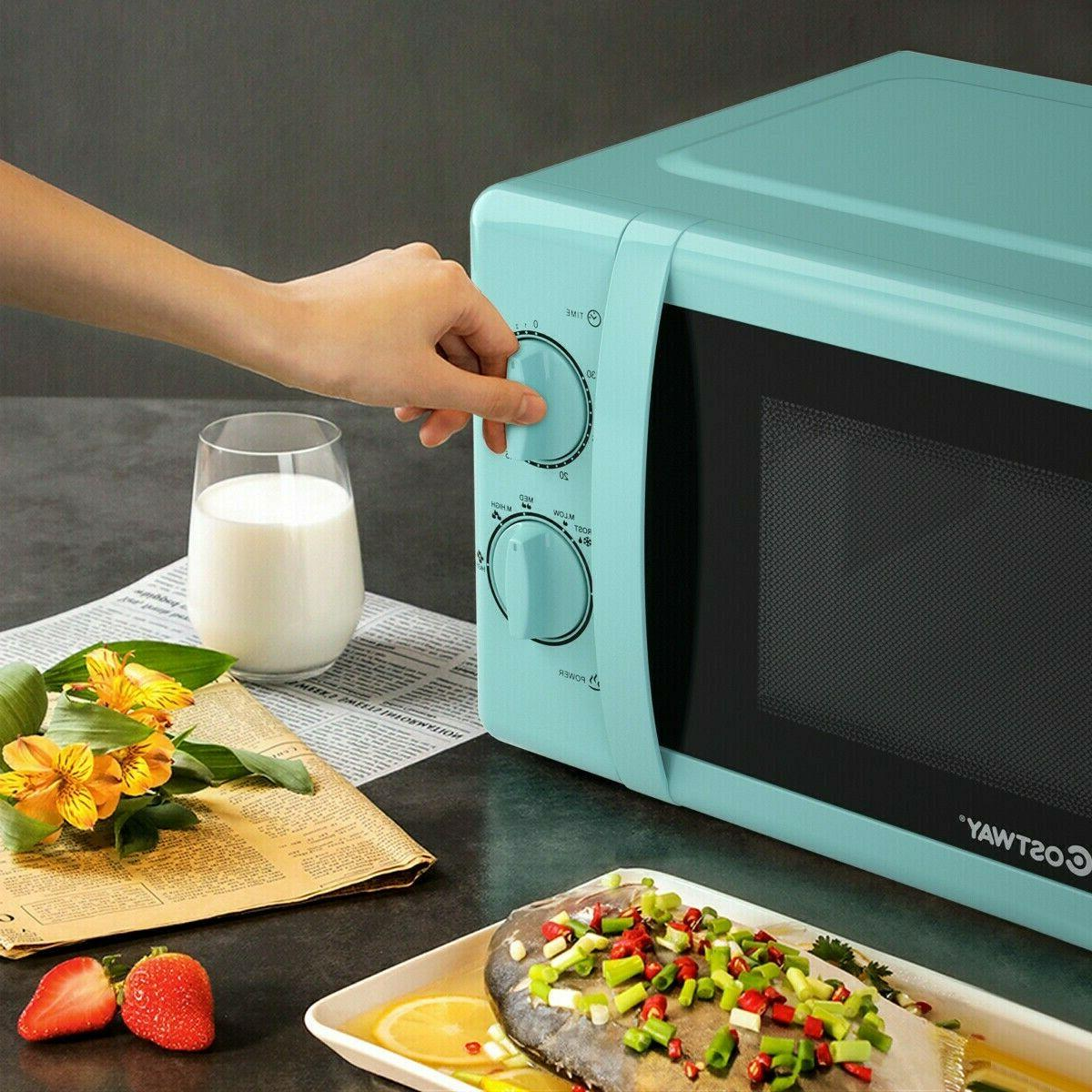 Retro Oven Teal Color Cooking 700W New