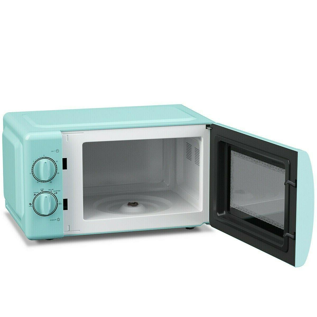 Retro Teal Kitchen Cooking
