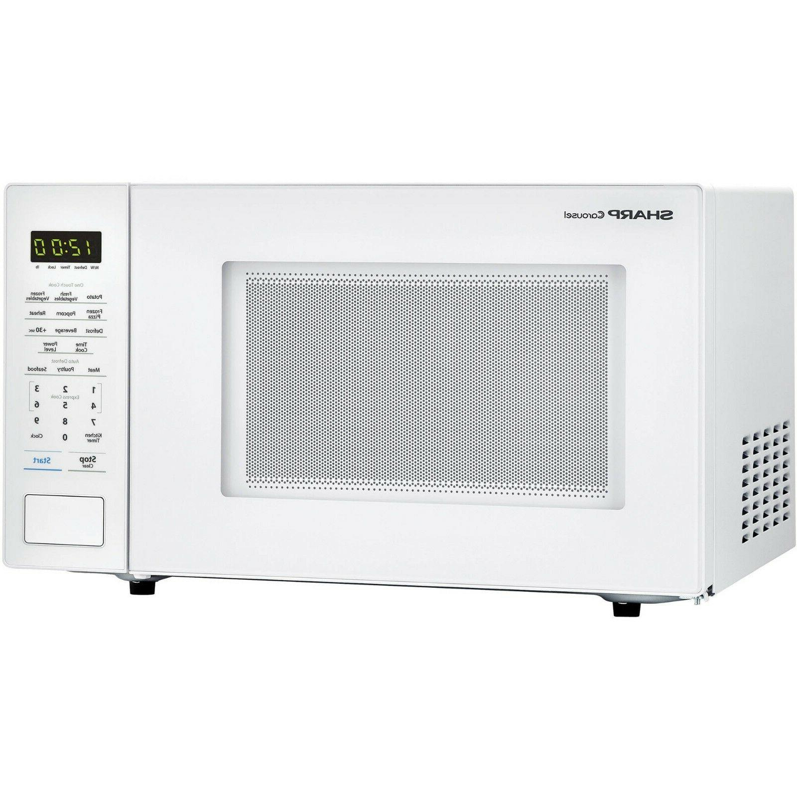 Sharp Zsmc1131cw 1,000w Microwave Oven Foot