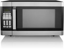 Microwave Oven 1.6 Cu. Ft. Stainless Steel LED Display With