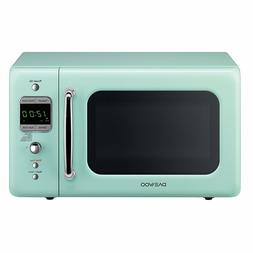 Microwave Oven Retro Vintage Kitchen Cooking 0.7 Cu 700W Dae