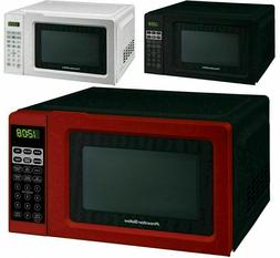Red Proctor Silex 0.7 Cu.ft Microwave Oven  Digital 700W Off