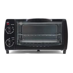 """Westinghouse WTO1010B 4-Slice Toaster Oven, 10-Liter, 14.57"""""""